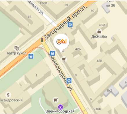 Розничный магазин Coral на карте