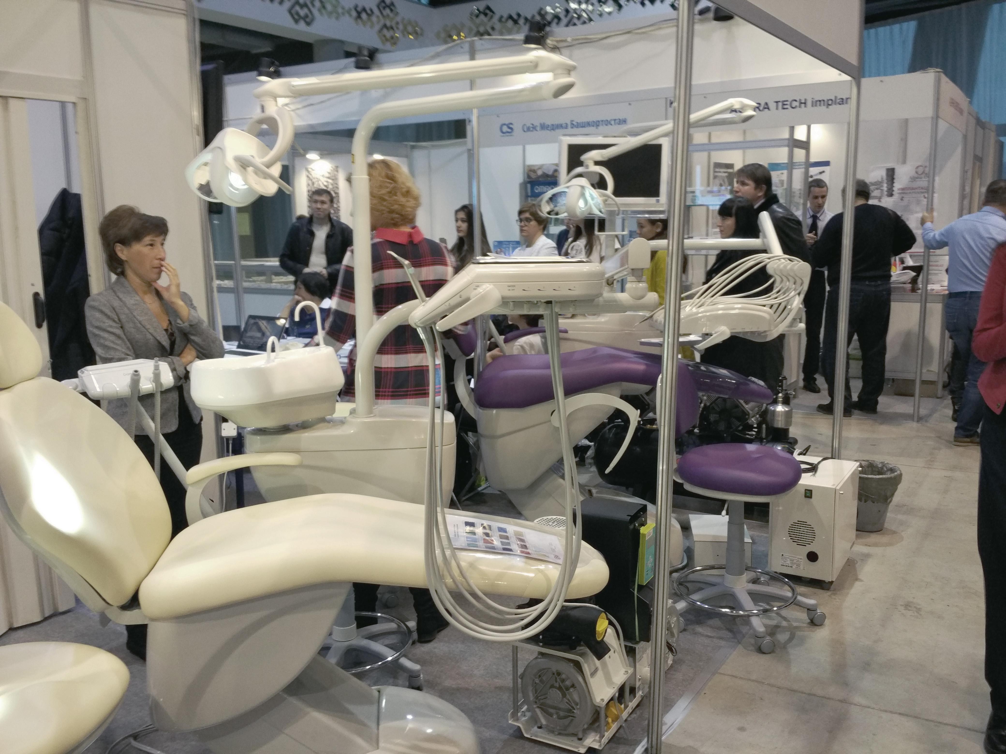 выставка стоматологических установок DARTA