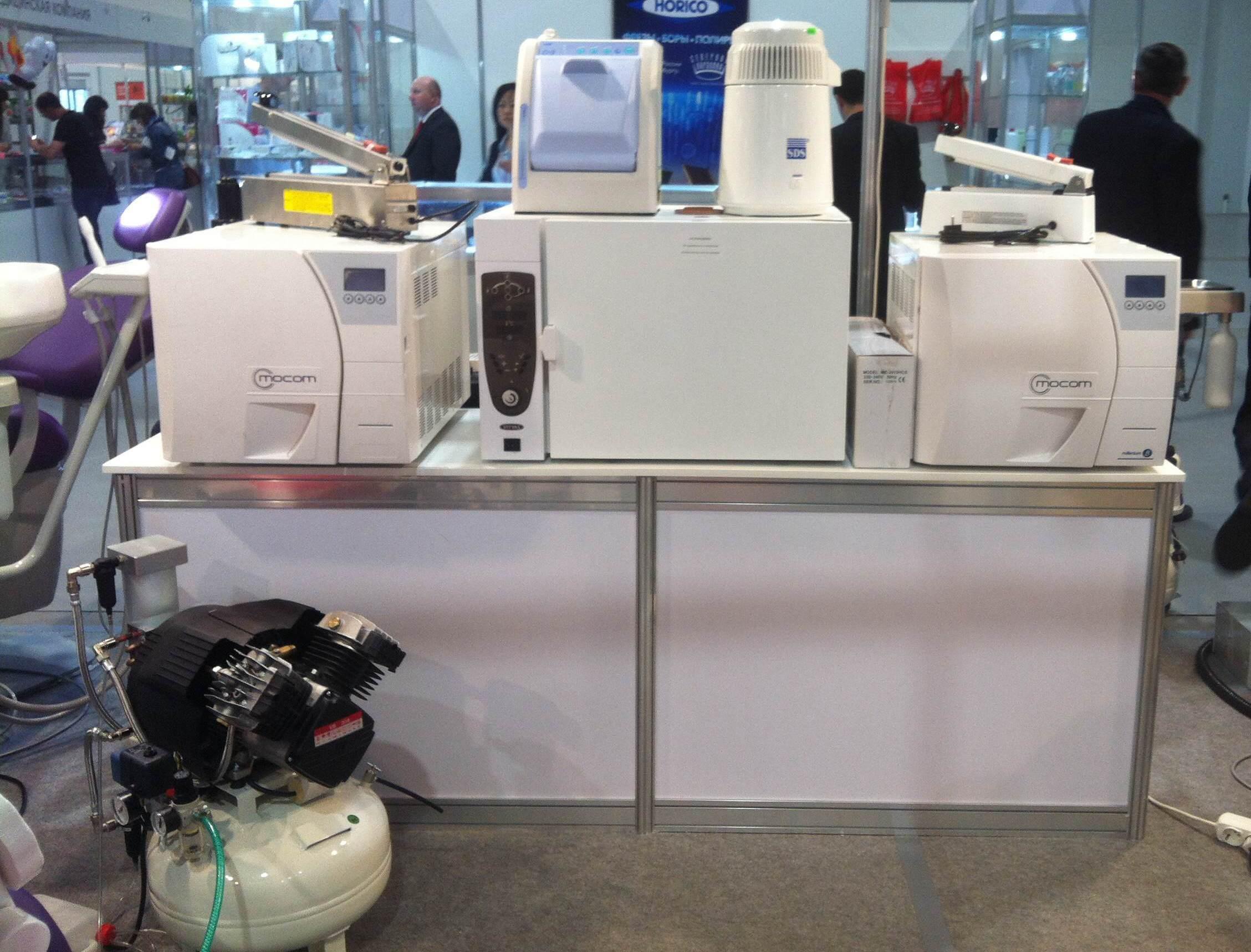 Оборудование на выставке Дентима 2015